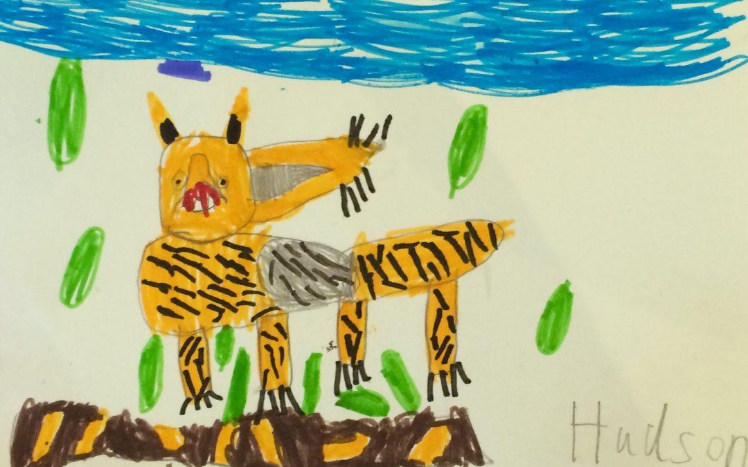 Amazing Animal Portraits! Easter Holiday Activity