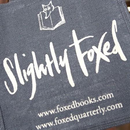 Meet Slightly Foxed at the John Moore Museum