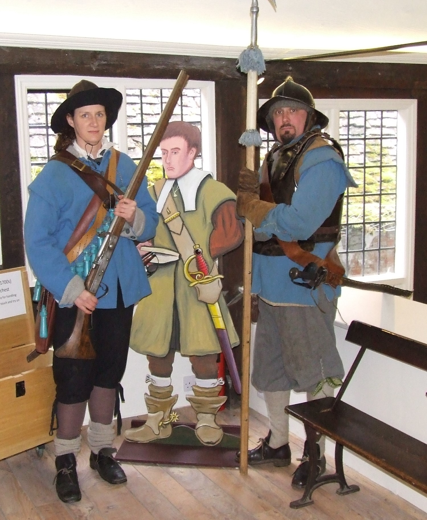 Garrisoning the Chapel – a living history event with the Sealed Knot